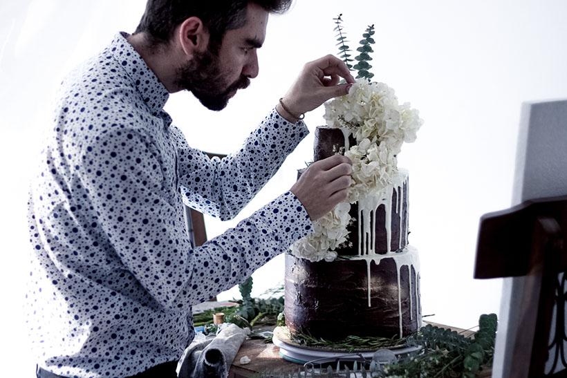 Chocolate Wedding Cake 01