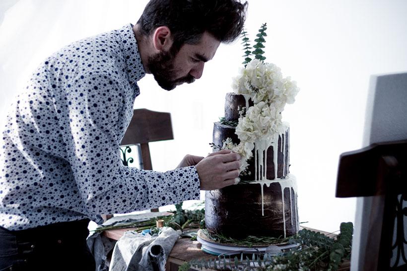 Chocolate Wedding Cake 02