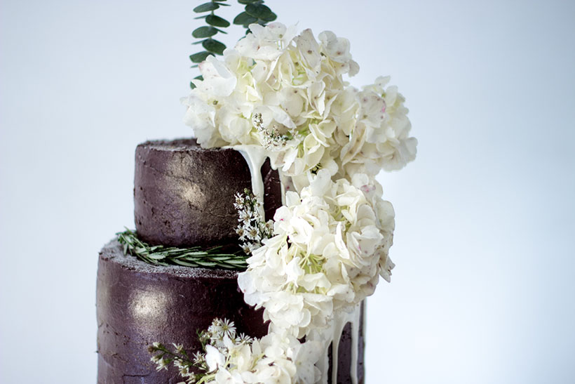 Chocolate Wedding Cake 07