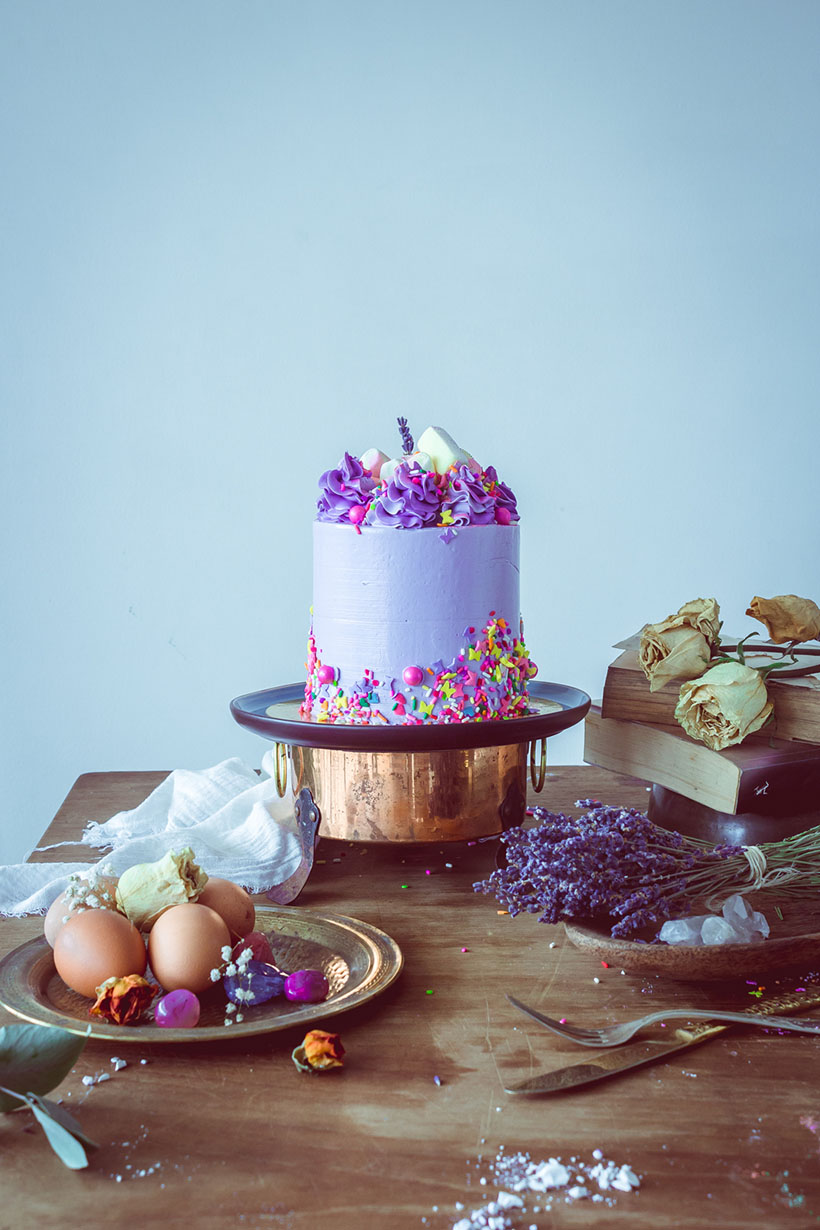 princess purple cake _02