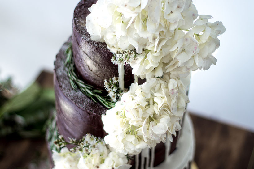 Chocolate Wedding Cake 06
