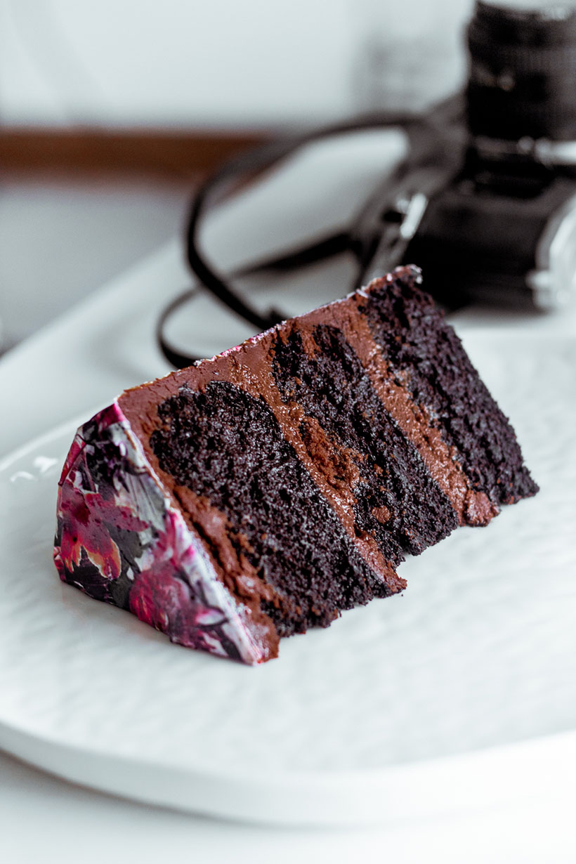 floral print cake 05